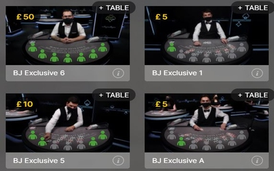 Betting Behind Blackjack tables