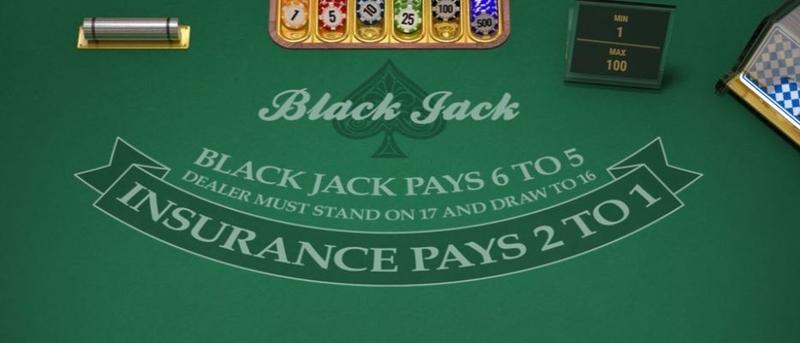 Blackjack Pays 6:5