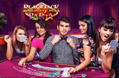 Blackjack Party Logo