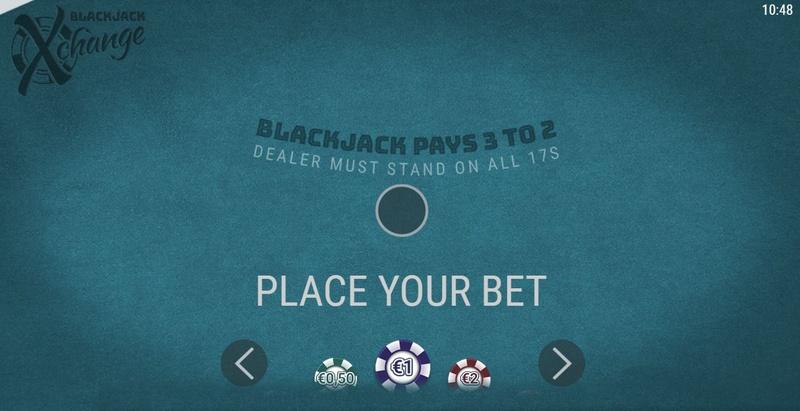 Blackjack Xchange Stake