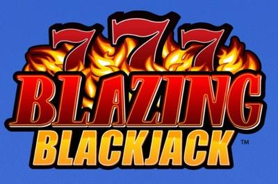 Blazing 7s Blackjack Logo