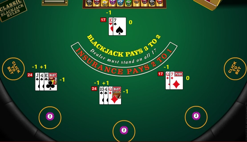 Card Counting Example hand