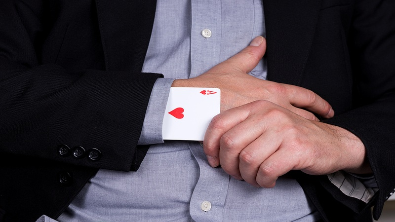 Cheating Ace Up Sleeve