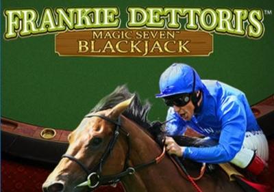 Frankie Dettoris Magic 7s Blackjack Logo