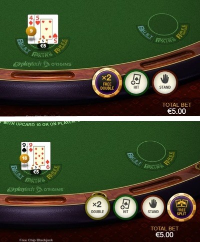 Free Chip Blackjack Free Chip
