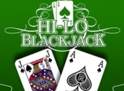 Hi Lo Blackjack Logo