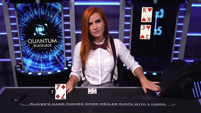 Quantum Blackjack Multipliers