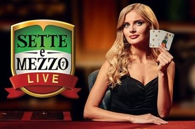Live Sette e Mezzo Logo