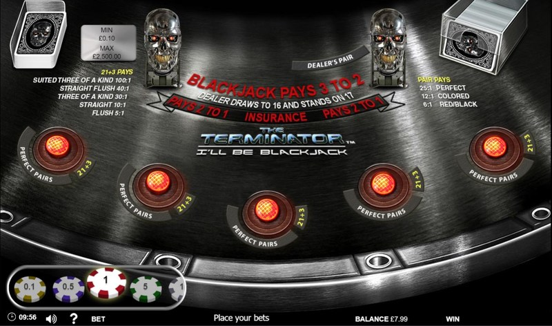 Terminator Blackjack